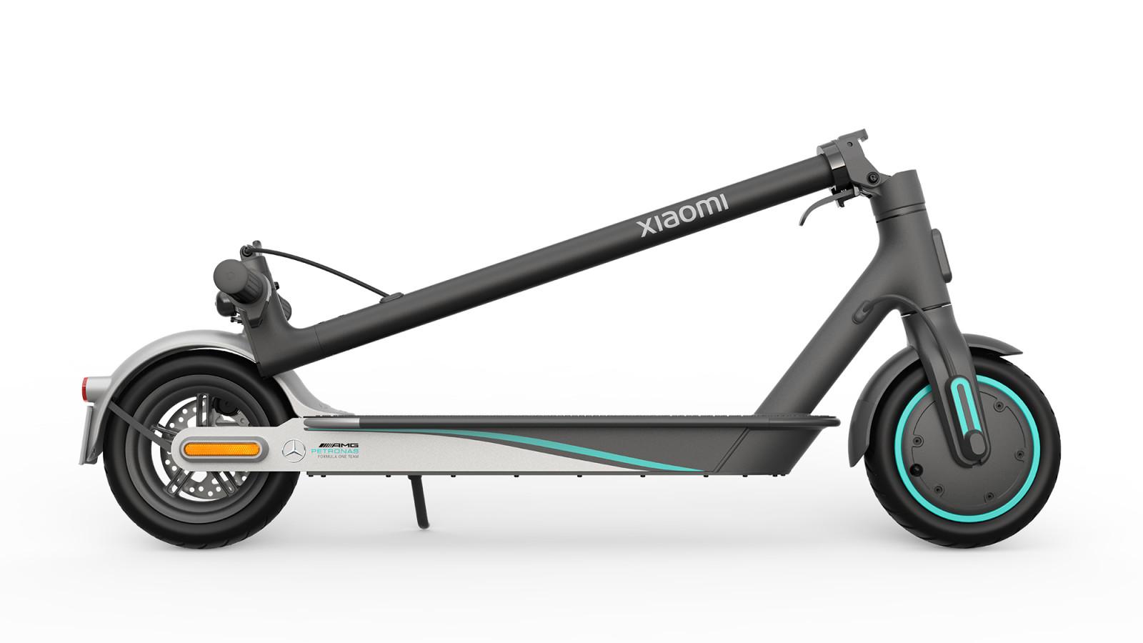 Xiaomi präsentiert einen neuen Formel-1-E-Scooter.