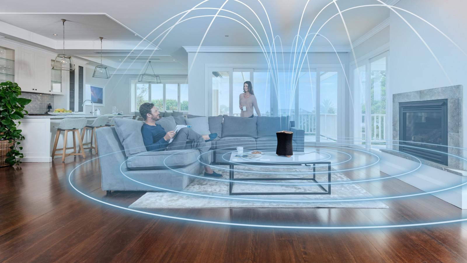 Erstmals setzt Sony auch bei seinen Lautsprechern auf 360 Reality Audio