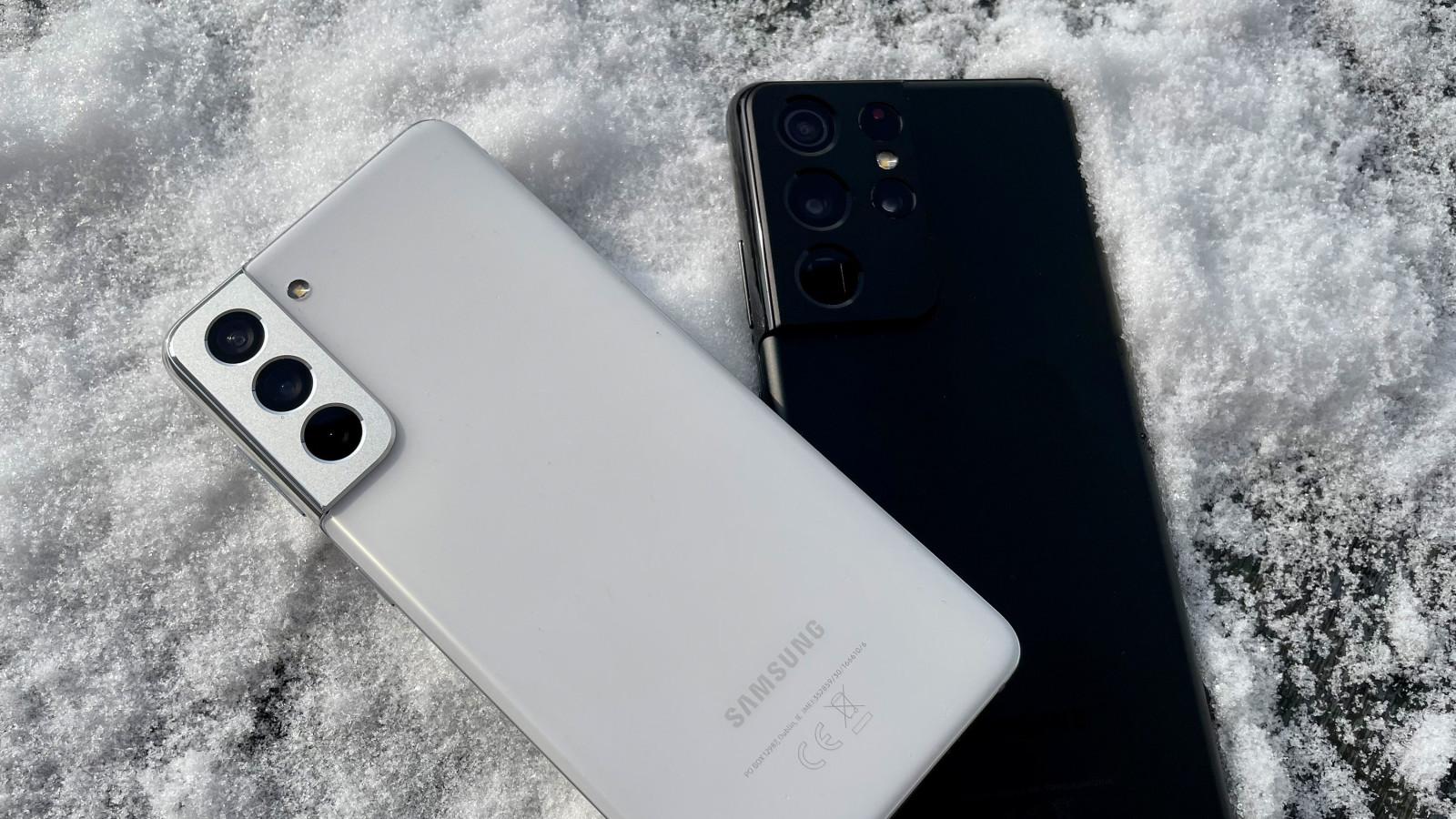 GQ testet die beiden neuen Smartphones Samsung Galaxy S21 und S21 Ultra.