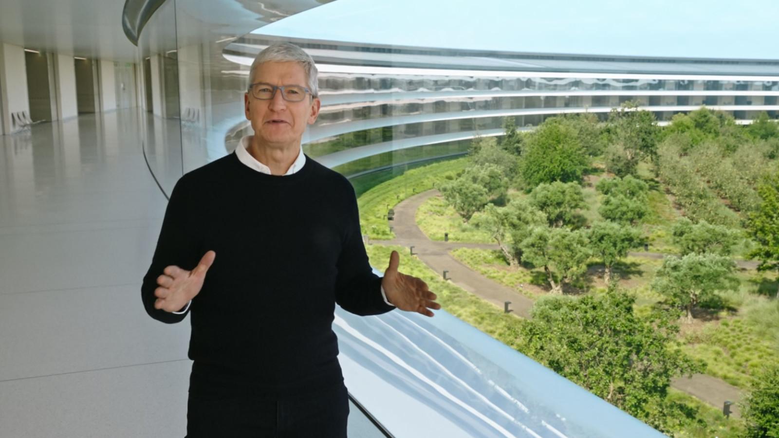 Apple Keynote 2020, Tim Cook