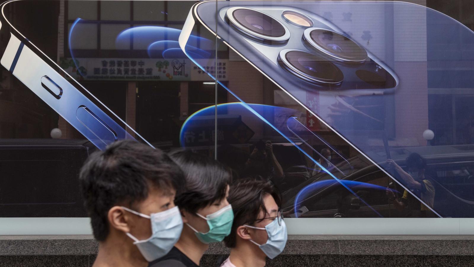 Das Apple iPhone lässt sich bald auch mit Maske und Face ID entsperren.