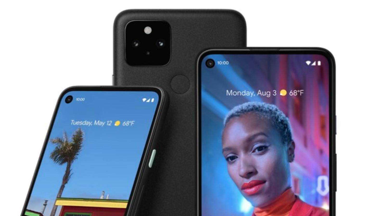 Smartphone, Google Pixel 5
