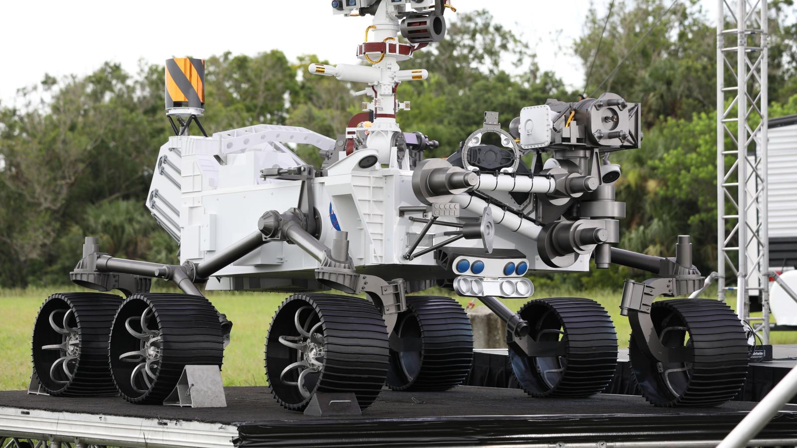 Der Mars-Rover der NASA besitzt den gleichen Prozessor wie ein Apple iMac.