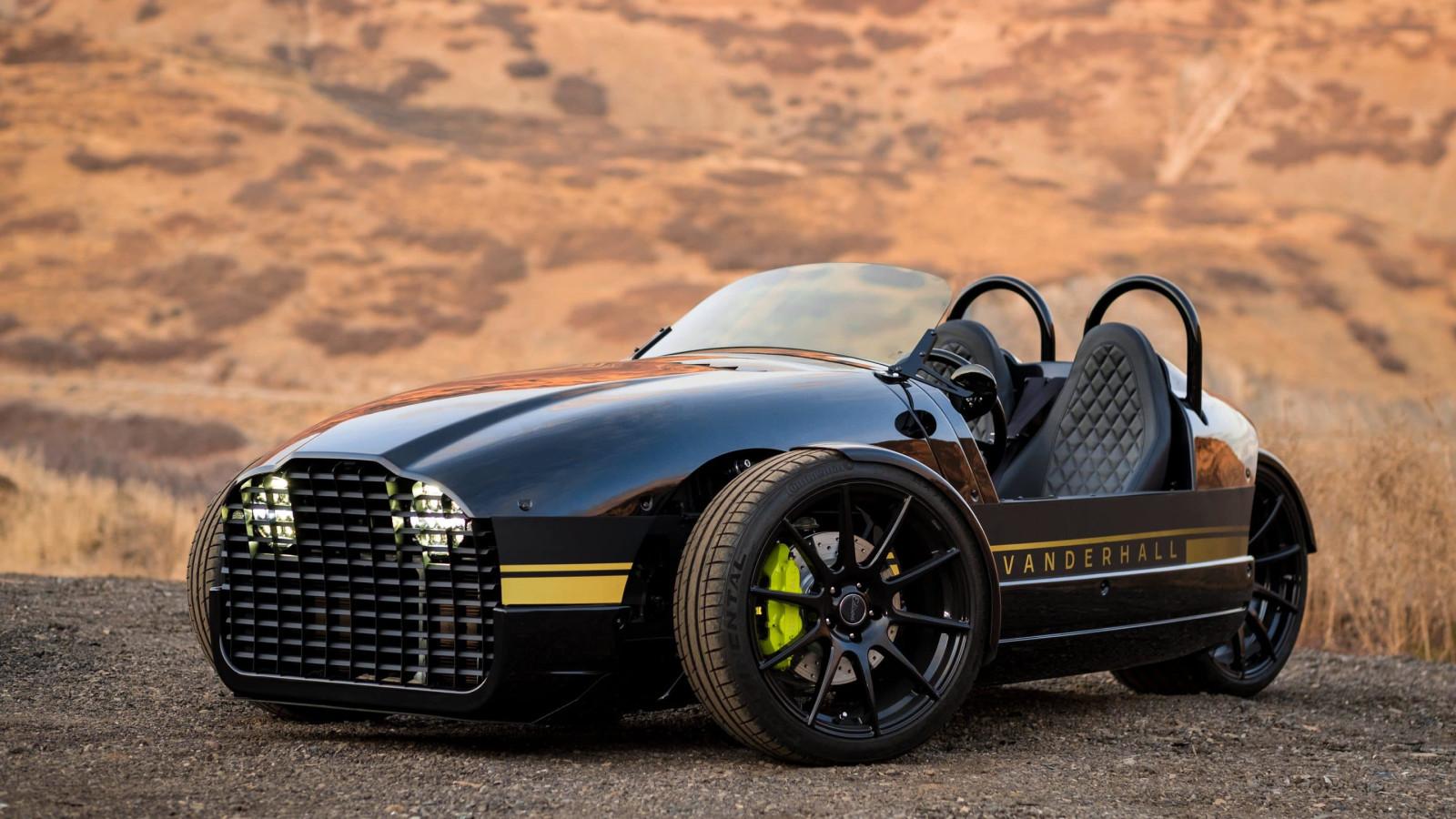 E-Fahrzeug, Elektromobilität, Vanderhall Edison²