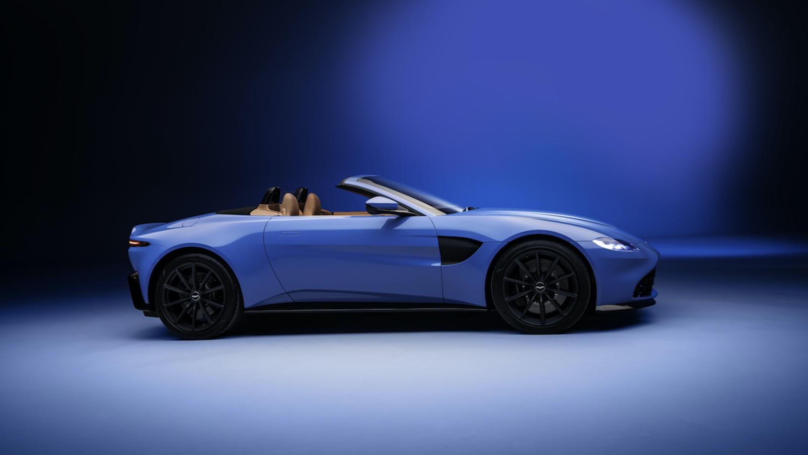 Aston Martin Vantage Roadster Der Brite Mit Dem Blitzverdeck Auto Und Technik Gq