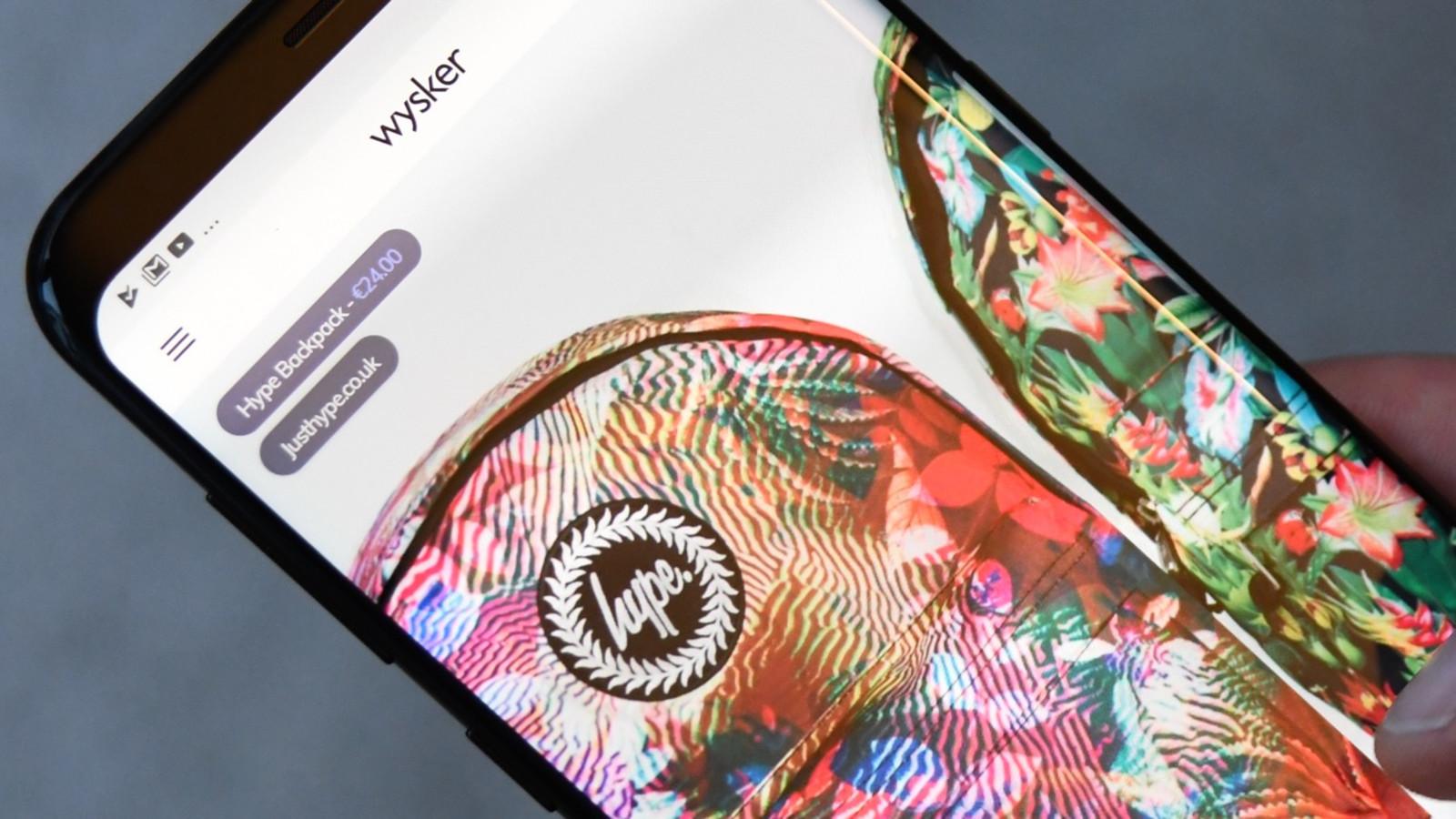 Wysker app close-up