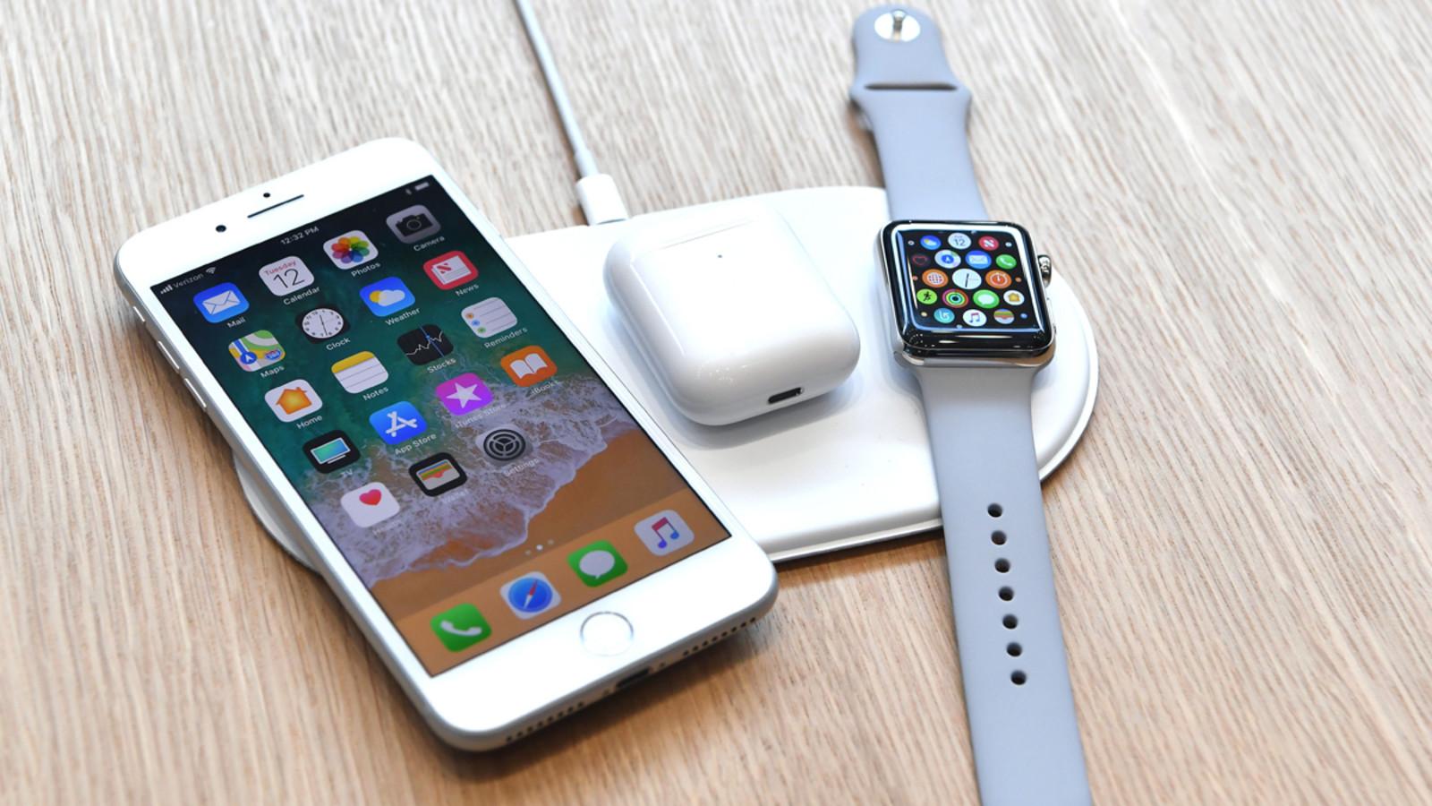 Apple-Geräte auf AirPower