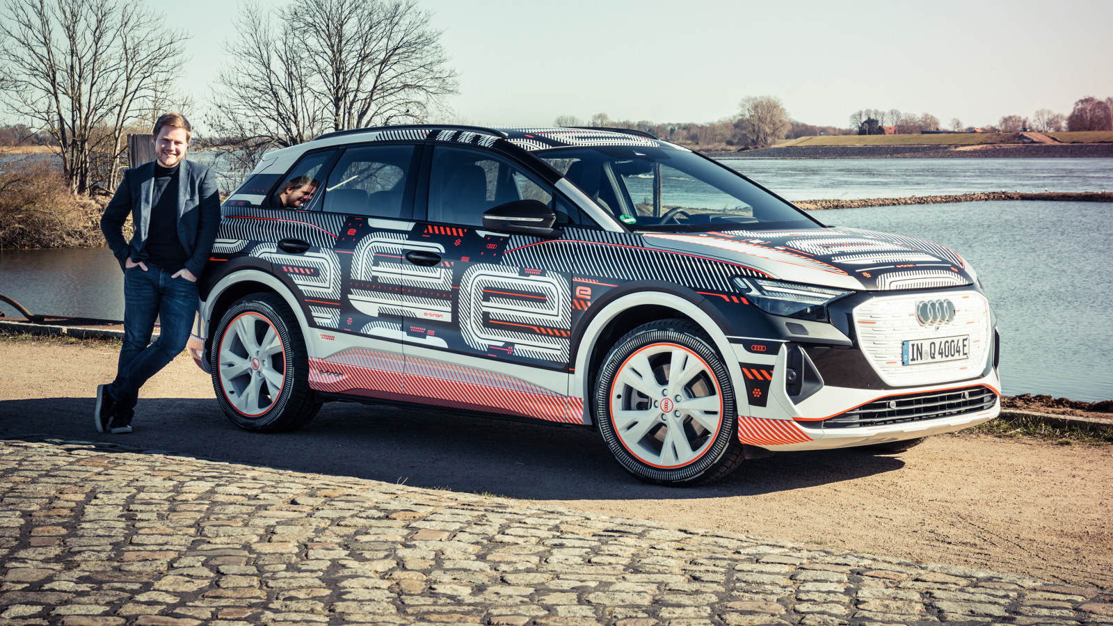 GQ testet das Vorserienfahrzeug des Audi Q4 e-tron.