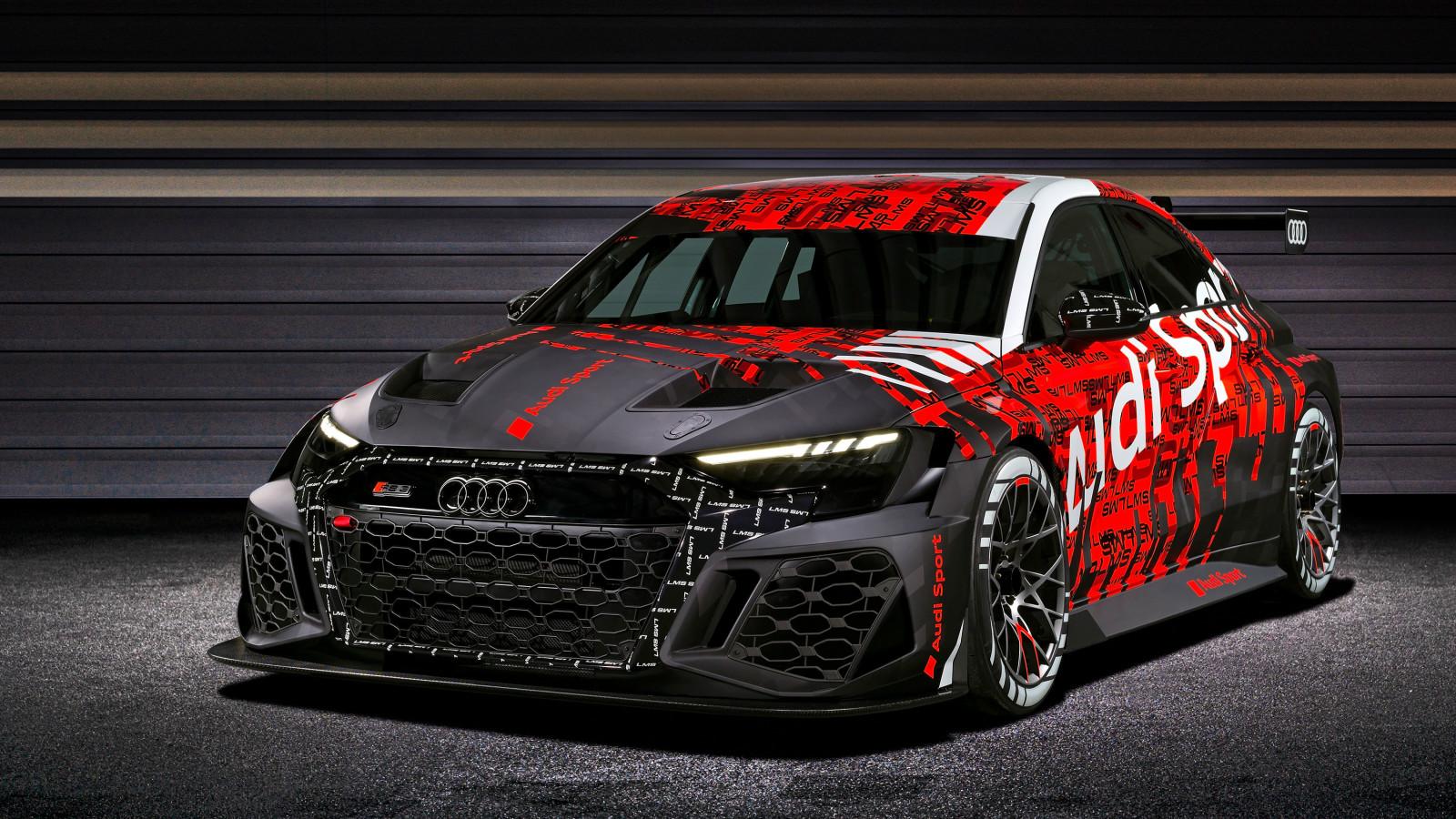 Audi präsentiert die Motorsportversion des neuen RS 3.