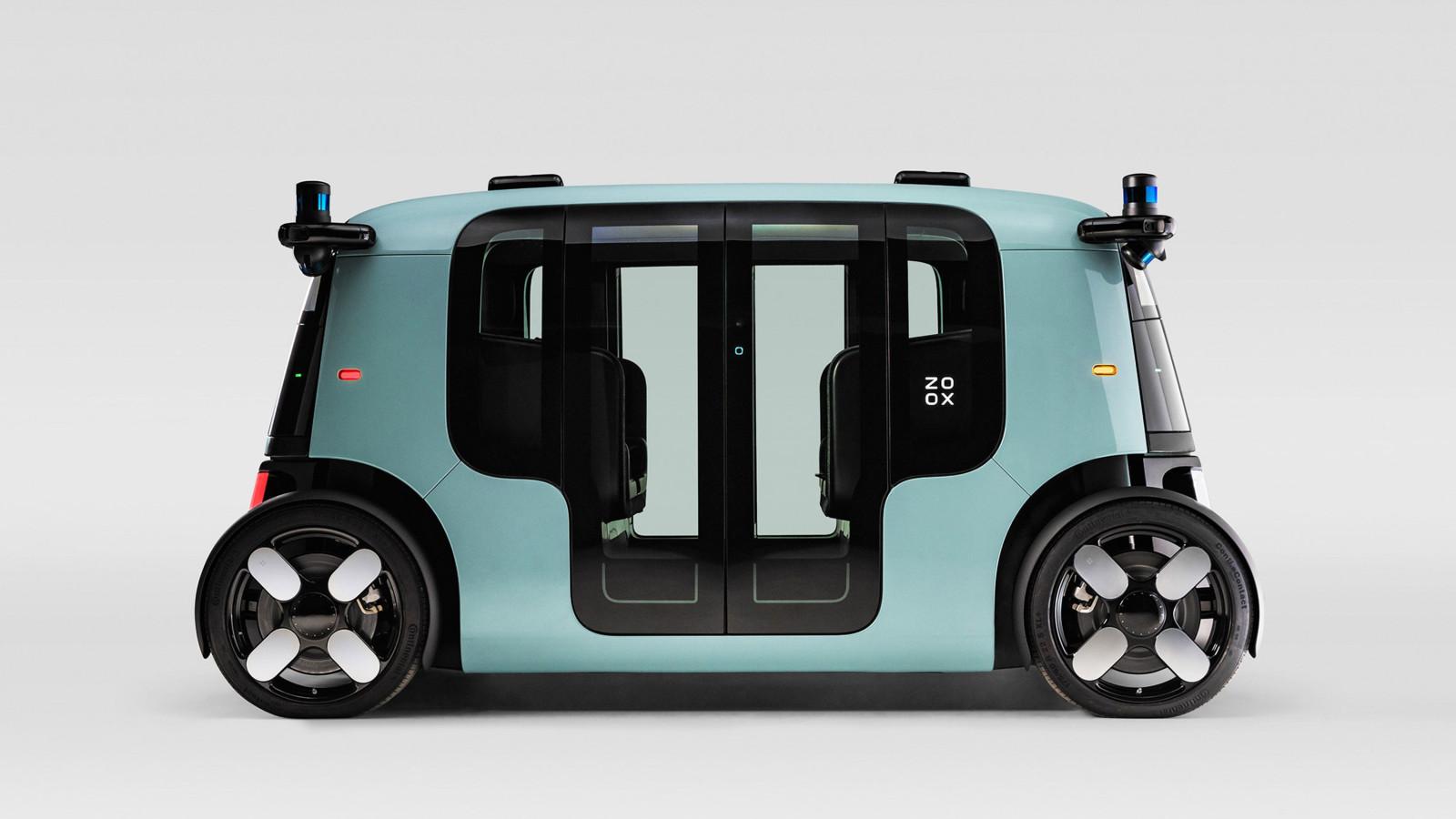 So sieht das selbstfahrende Auto Zoox aus