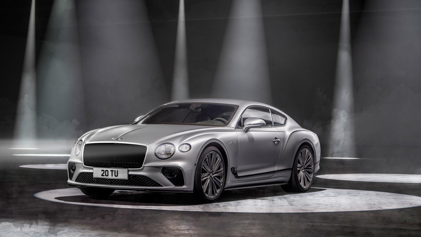 Mit dem Bentley Continental GT Speed stellen die Briten ihr schnellstes Serienmodell vor.
