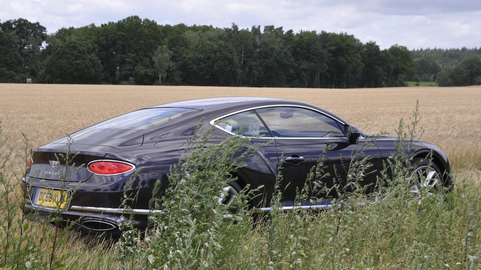 Fahrbericht Bentley Continental GT W12
