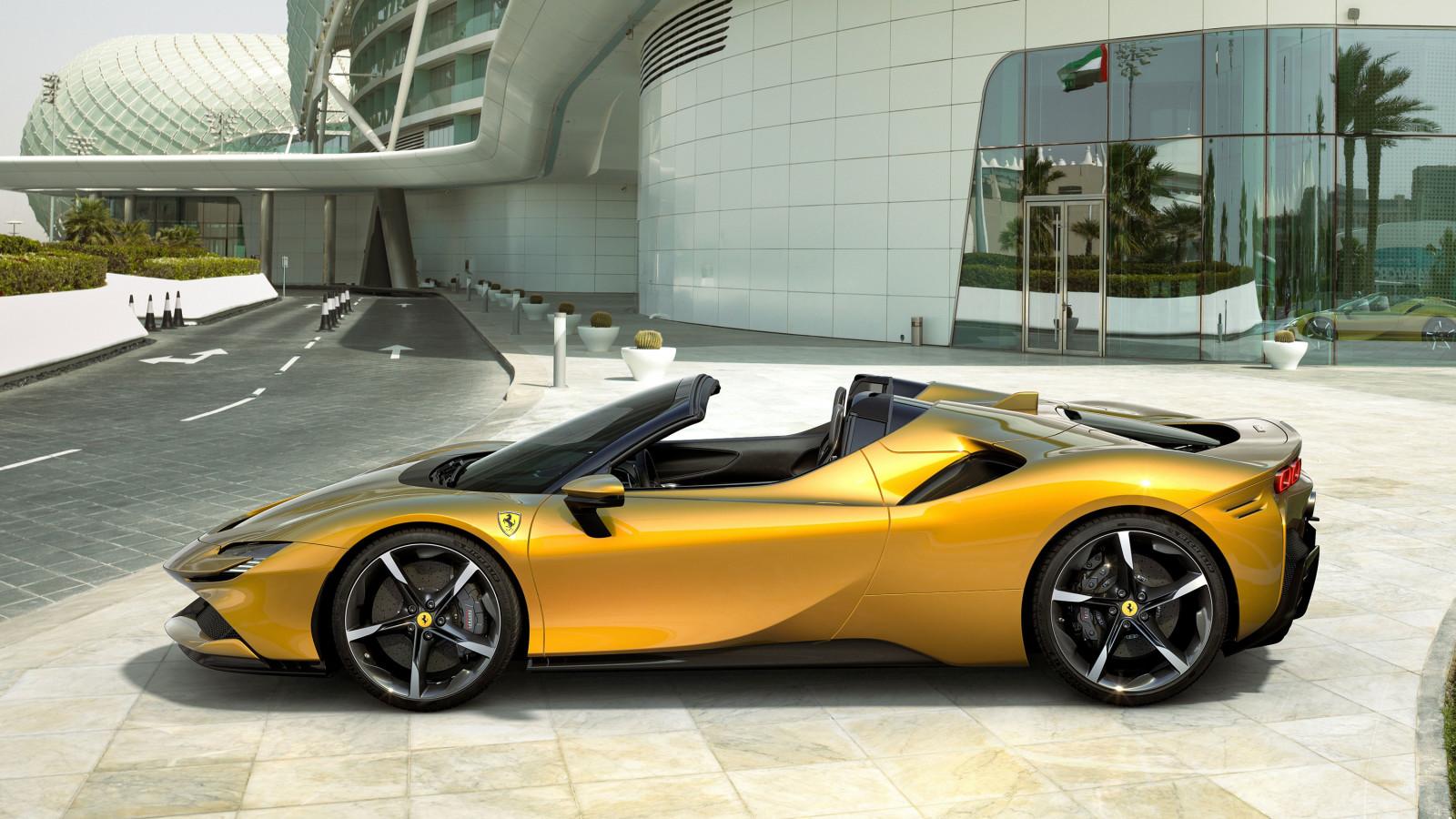 Der neue Ferrari SF90 Spider erinnert optisch an den SF90 Stradale