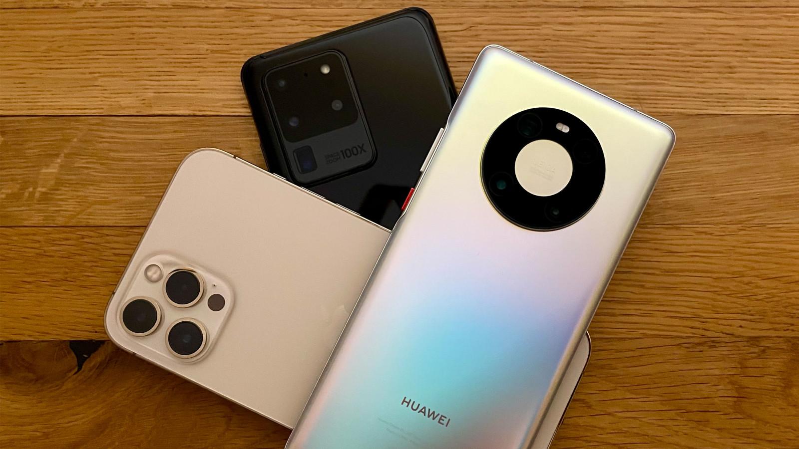 iPhone 12 Pro Max im Vergleichstest mit der Konkurrenz