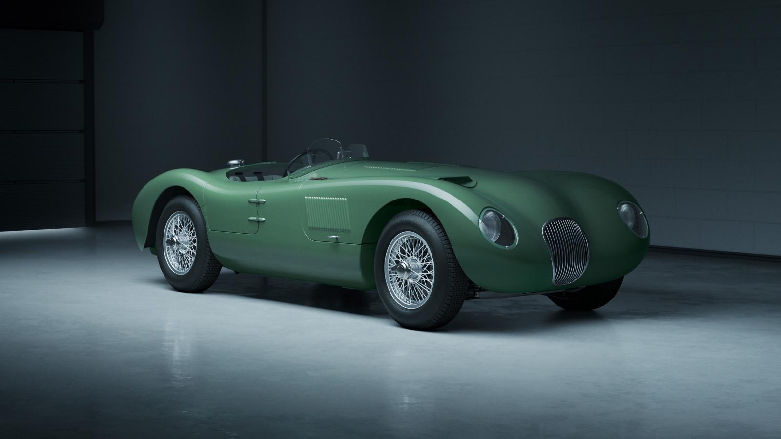 Jaguar legt seinen preisgekrönten C-Type von 1953 neu auf.