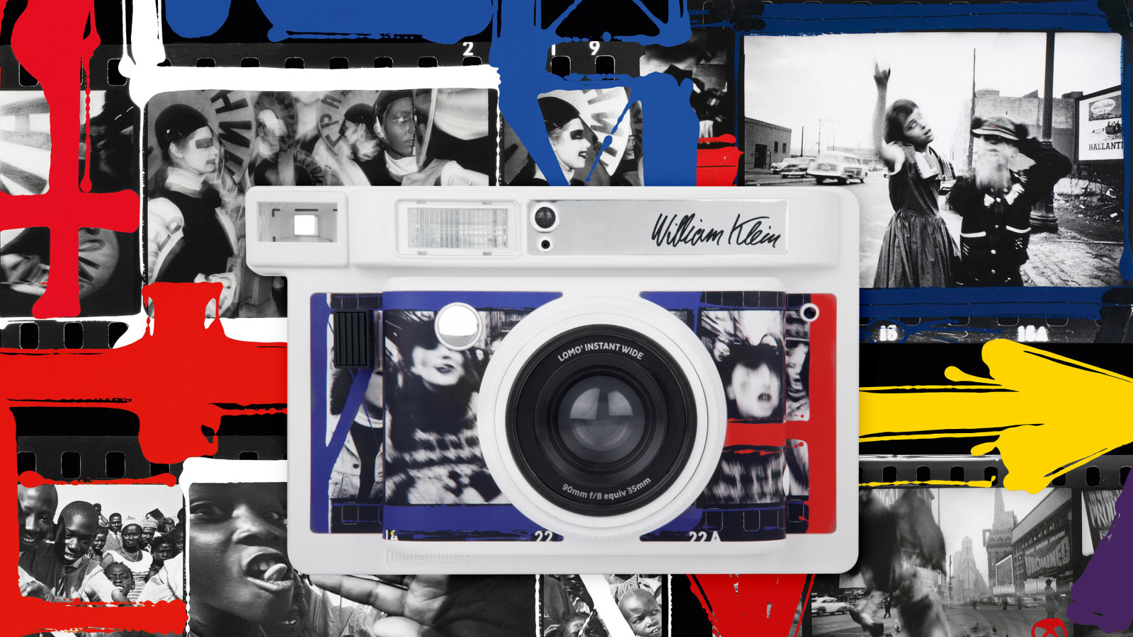 Lomography x William Klein Special Edition Sofortbildkamera