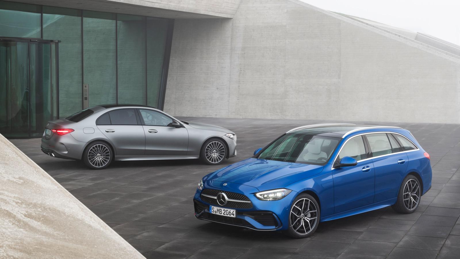 Mercedes-Benz präsentiert die neue C-Klasse.