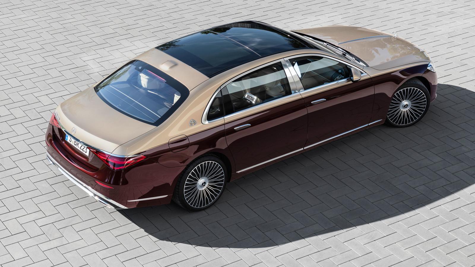 Die Mercedes-Maybach S-Klasse ist eine Luxus-Oberklassen-Limousine