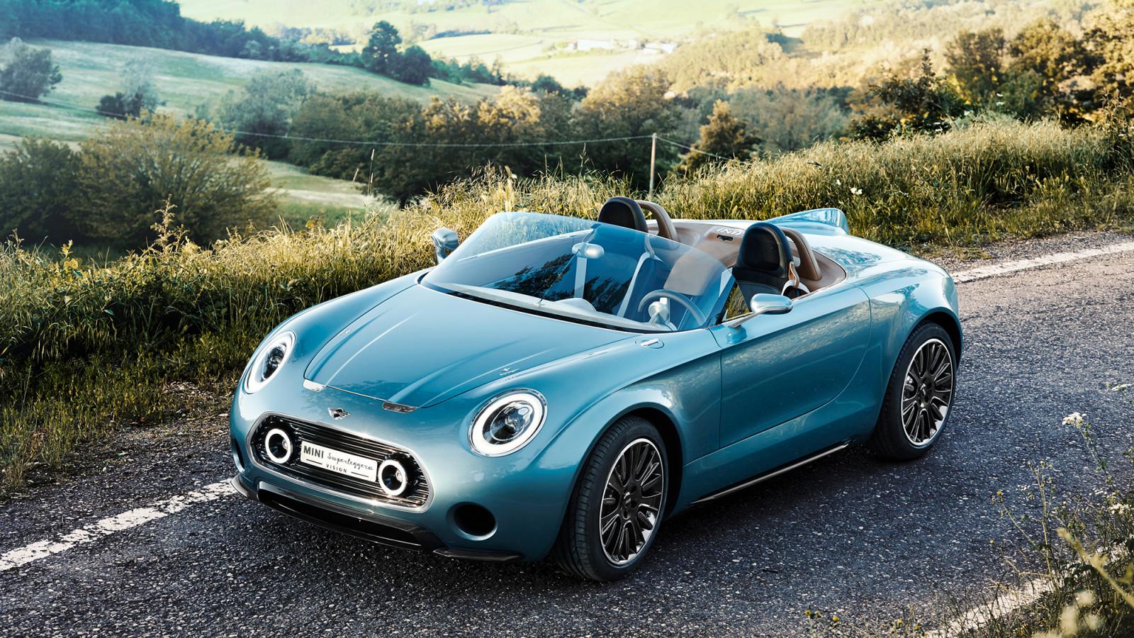 Concept Cars, E-Cabrio, Elektromobilität, Mini, Mini Superleggera™ Vision