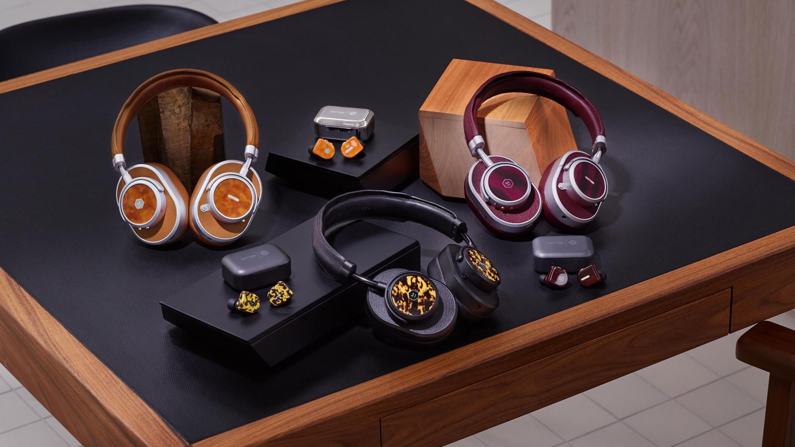 Die neuen Kopfhörer der Oliver Peoples x Master & Dynamic Kollektion