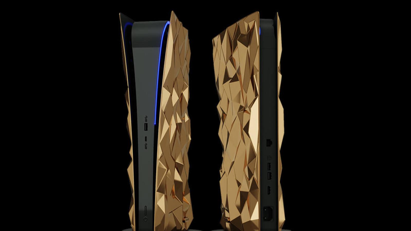 Der Premium-Veredler Caviar bietet eine vergoldete Playstation 5 an.