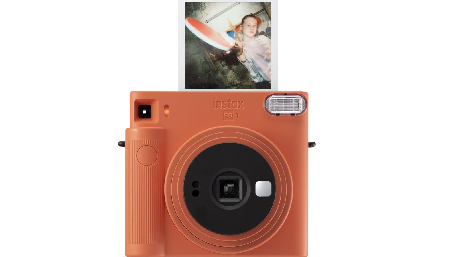 FujiFilm Instax Square SQ1, Sofortbildkamera, Polaroid Kamera
