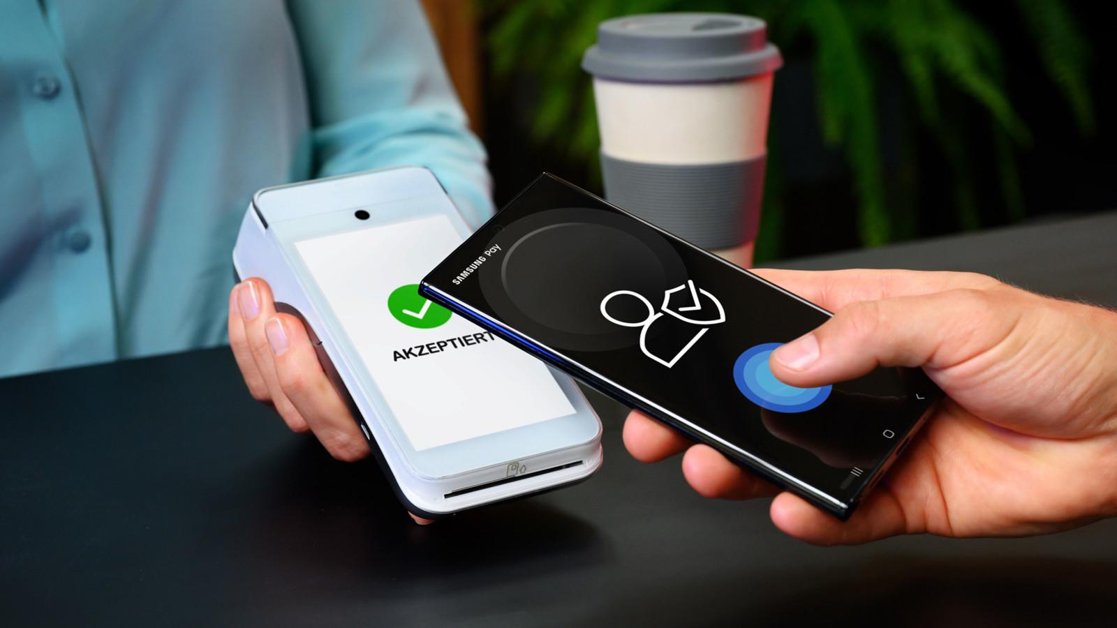 Mit Samsung Pay kontaktlos mobil in Deutschland zahlen