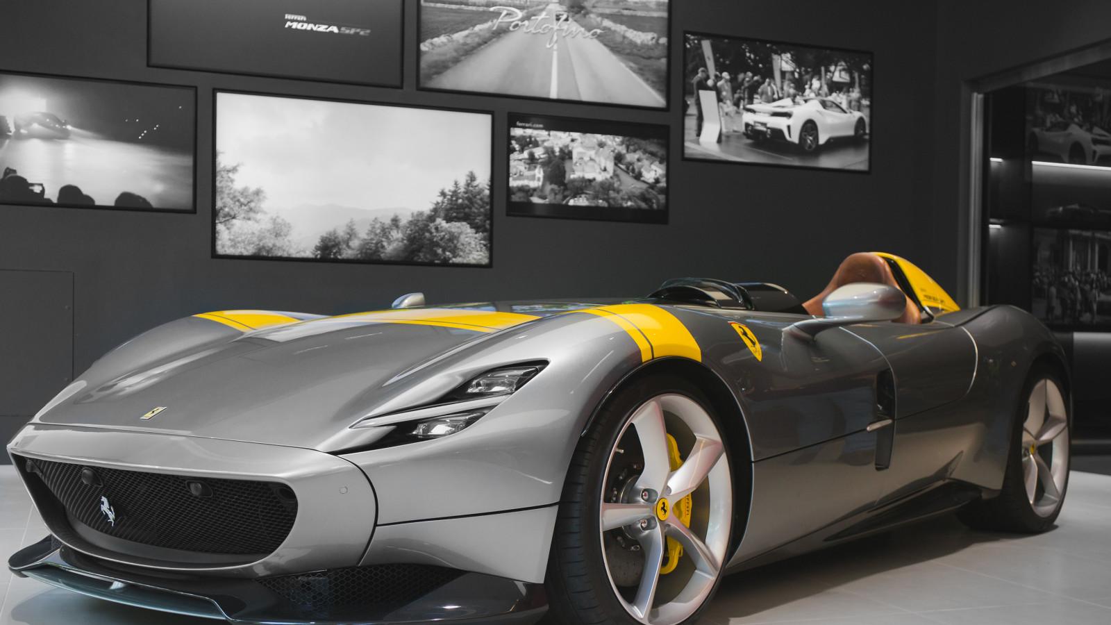 Der Ferrari Monza SP1 zählt zu den schönsten Autos der Welt.