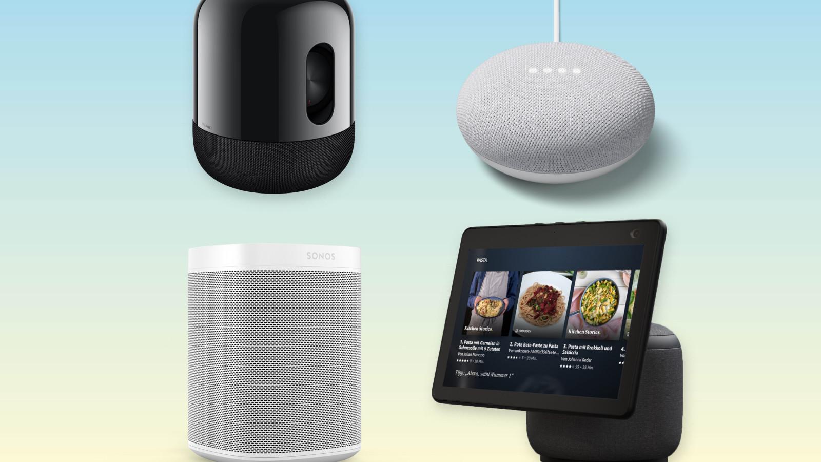 Smart Speaker sind ein gutes Weihnachtsgeschenk 2020