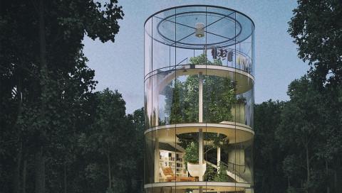 Diese Baum-Häuser zeigen, wie grün wir in Zukunft wohnen könnten