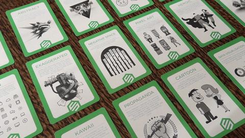 Dieses Kartenspiel soll Designer von Kreativblockaden befreien