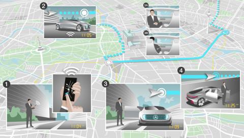 Daimler und Bosch wollen fahrerlose Taxis schon in fünf Jahren