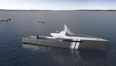 Rolls-Royce plant ein autonomes Patrouillenboot