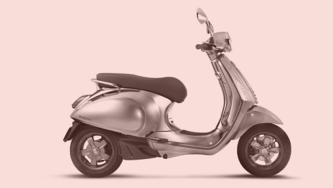 Den ikonischen Vespa-Roller gibt es bald als E-Scooter