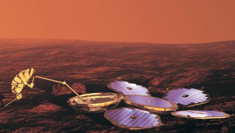 Neue Bilder zeigen den verunglückten Marslander Beagle 2 so detailliert wie noch nie
