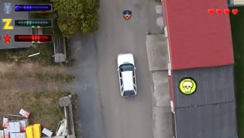 Eine Drohnen-Hommage an Grand Theft Auto
