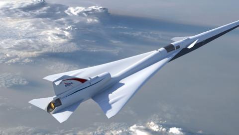 """NASAs Überschallflugzeug durchbricht die Mauer mit sanftem """"Plop"""""""