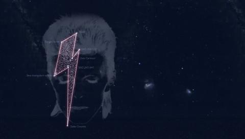 Sieben Sterne für David Bowie