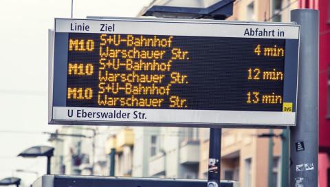Wieso dauern zwei Minuten auf der Bus-Anzeigetafel selten zwei Minuten?