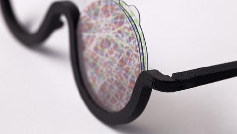 Diese Sonnenbrille aus dem 3D-Drucker simuliert LSD-Halluzinationen
