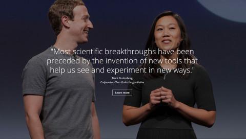 Mark Zuckerberg will mit Hilfe einer KI-Suchmaschine Krankheiten heilen