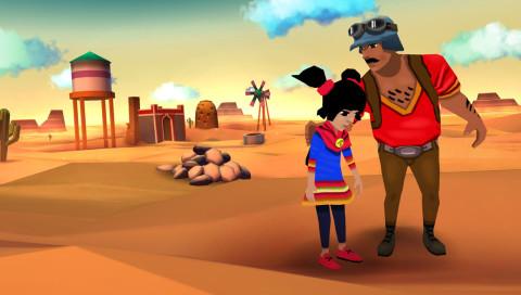 """Im Mobile-Game """"Cloud Chasers"""" werdet ihr zu Flüchtlingen in der Wüste"""