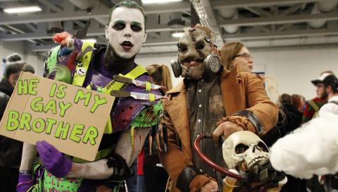 Die Helden und Schurken der Berliner Comic Con