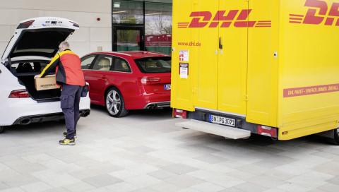 Neues vom Admin / Liebe DHL, bitte noch keine Experimente mit Paketen in Kofferräumen!