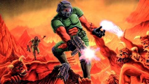 In diesem Doom-Deathmatch kämpfen nur Künstliche Intelligenzen gegeneinander