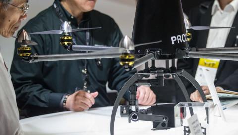 In Tokio sollen Polizeidrohnen andere Drohnen jagen
