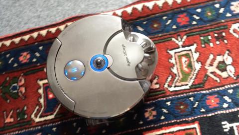 Gründlich, aber leicht beschränkt: Der Saugroboter Dyson 360 Eye im Test