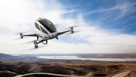 Das Taxi der Zukunft fliegt pilotenlos ans Ziel