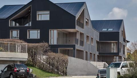 In der Schweiz steht das erste völlig energieautarke Wohnhaus