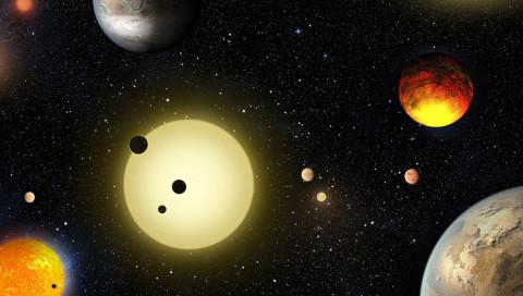 Das Kepler-Teleskop hat 1284 neue Exoplaneten entdeckt
